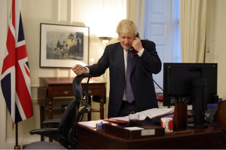 TELECON: Biden and Boris Johnson discuss alliance, climate, Covid