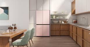 Samsung's newest fridges come in unique colours