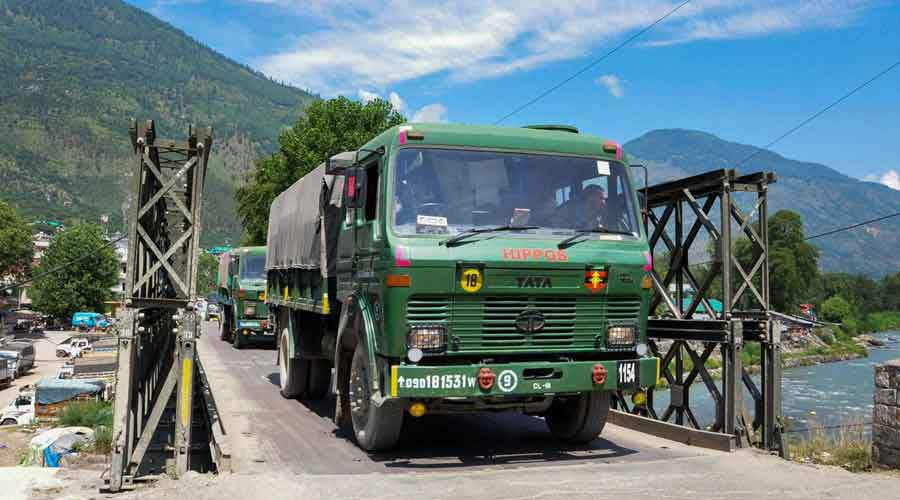 India-China armies eyeball to eyeball in Eastern Ladakh