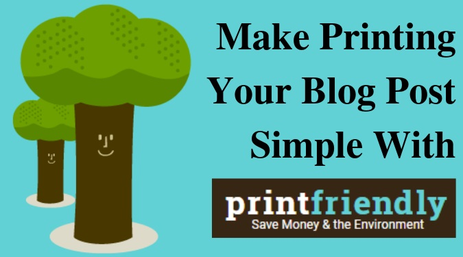 Printfriendly – Making PRINTING from WEB much simpler