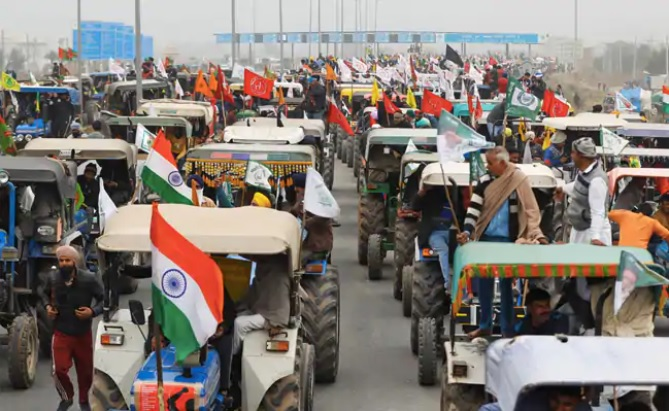 Farmer's Tractor Rally planned on India's Republic Day