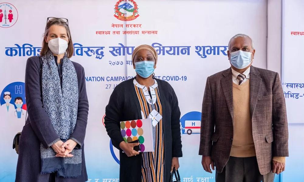 UN congratulates Nepal on launching vaccination campaign