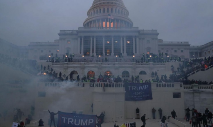Washington awash with rioters – 4 dead, 15 days Emergency declared