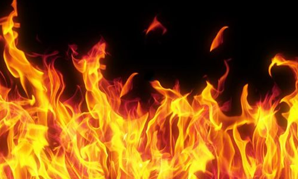 Rs. 40 million worth of damage caused by fire in Soybean Industry