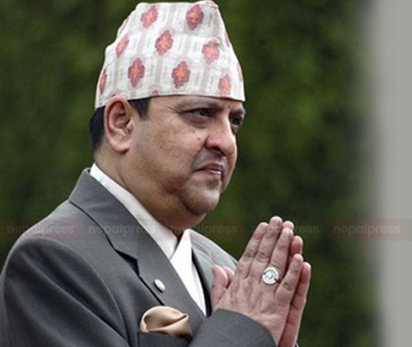 Ex-King Gyanendra Shah questions honesty in current politics