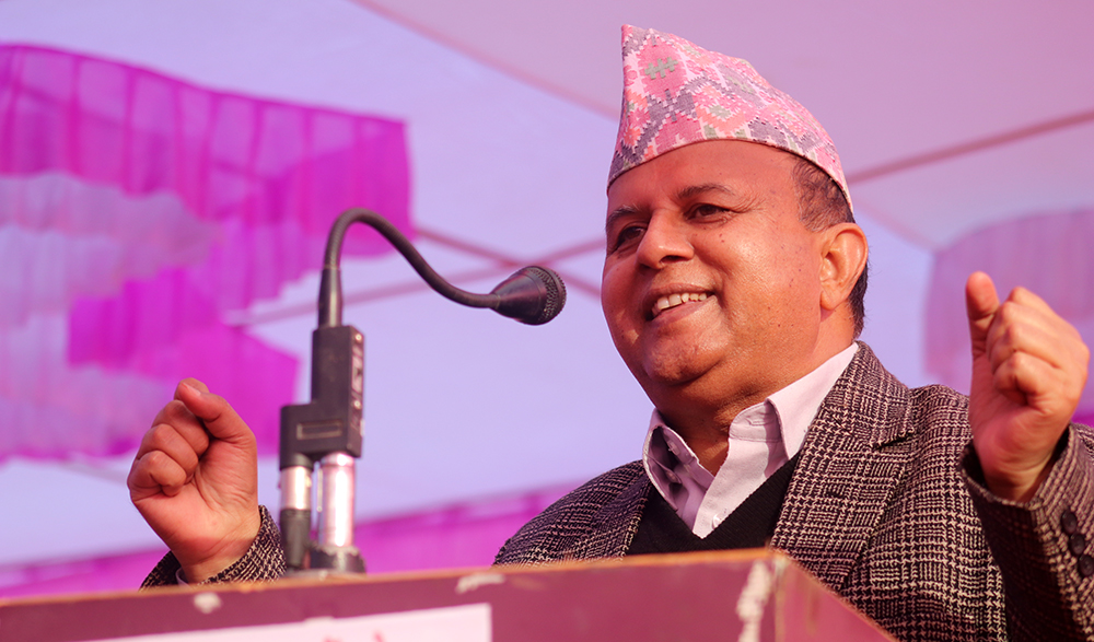 A central committee of 1199 members has been formed to protect the party from breaking: Pokhrel