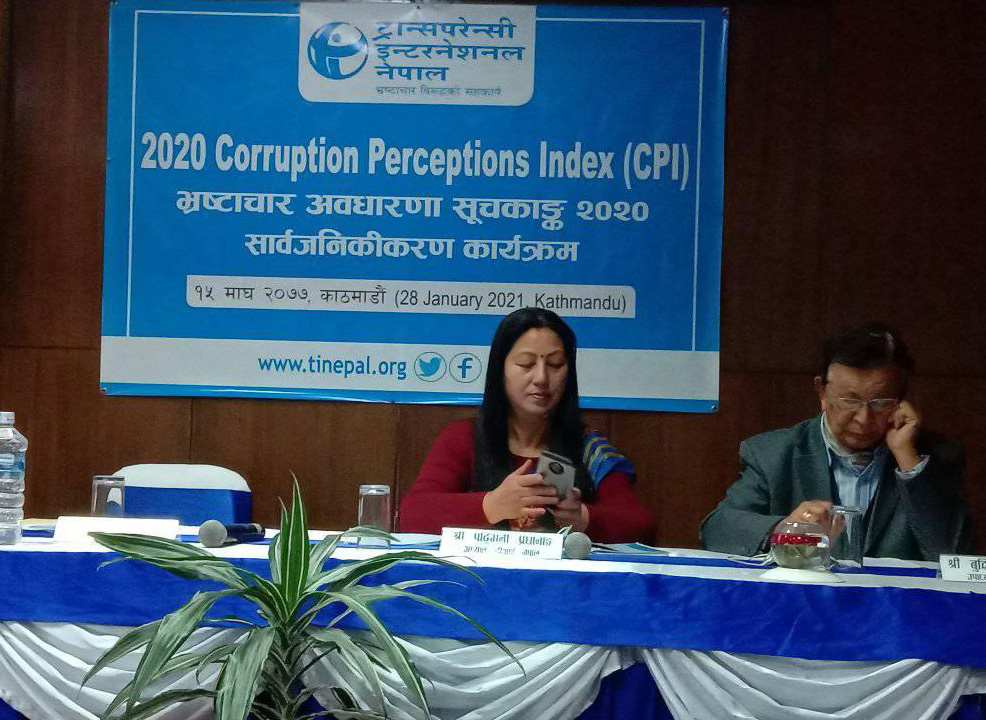 Corruption on the rise in Nepal: Transparency International