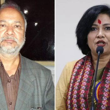 Raghuji Panta in controversy over sexually harassing remarks on Komal Oli