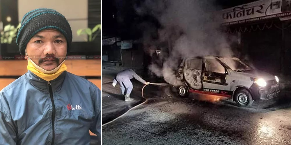 I would have been burnt along with my taxi: Driver Kumbha Narayan