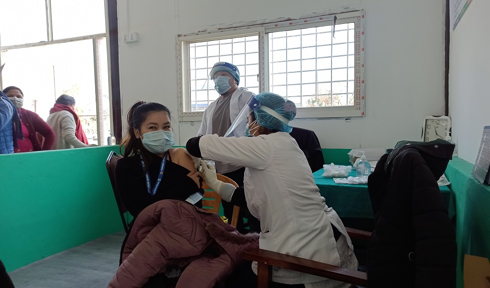 Local Representatives and Government Employees being vaccinated from today