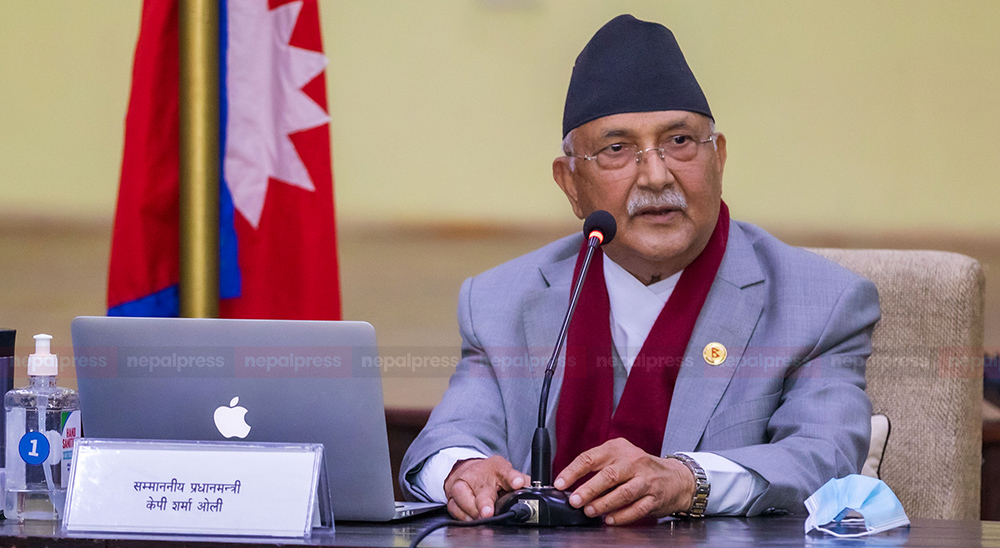 I am adamant on the principle of not fighting with truth and not bowing to power: PM Oli