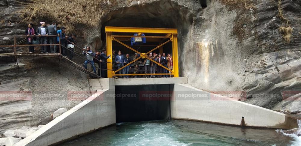 Melamchi tunnel test begins