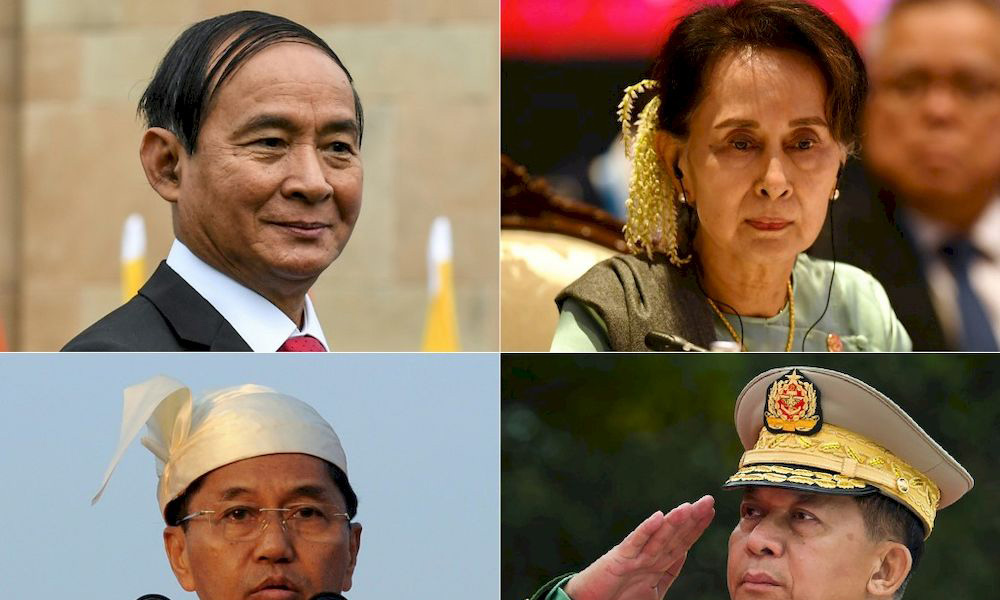 Massive reshuffle in Myanmar's cabinet immediately after Military Coup