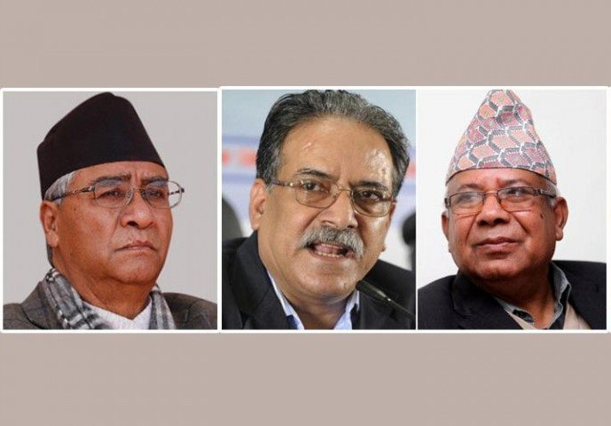 Prachanda, Madhav and Deuba to hold a meeting