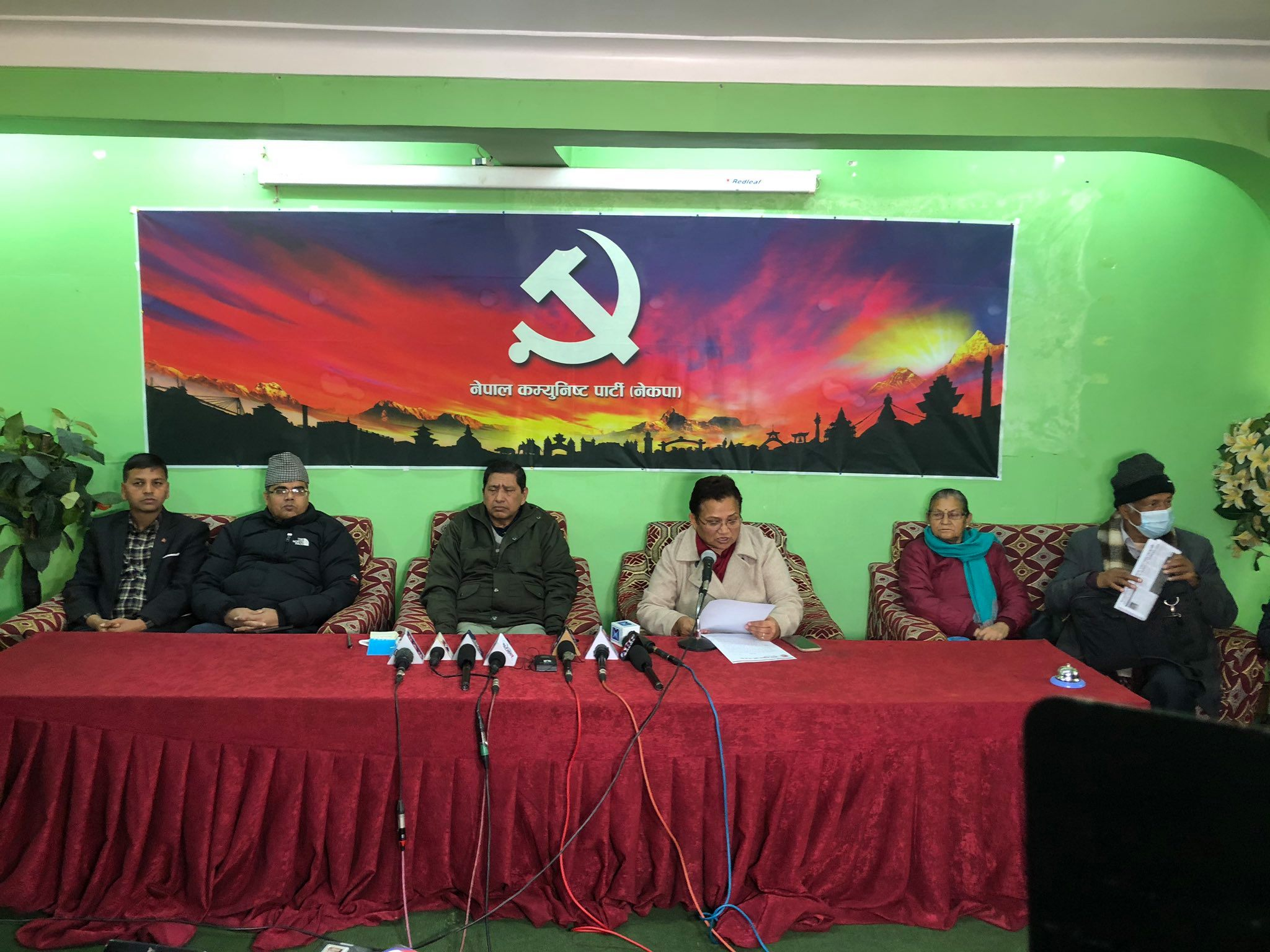 Prachanda-Madhav faction announces General Strike