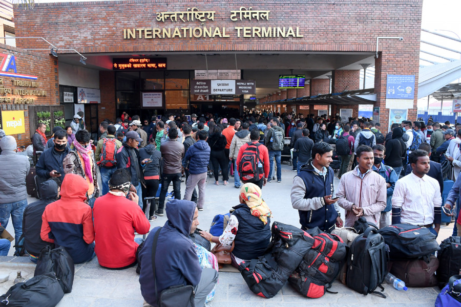 Youths bound to foreign countries for employment amidst COVID pandemic