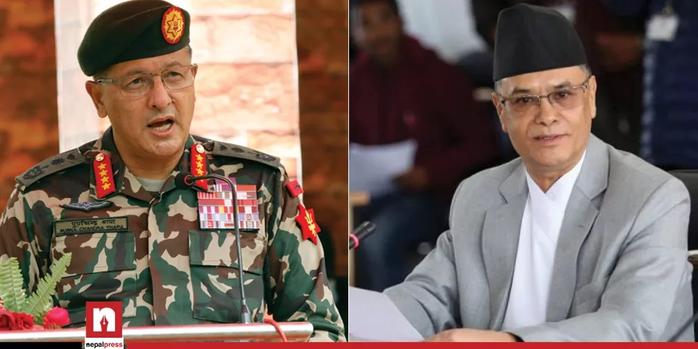 Chief of Army Staff meets Chief Justice