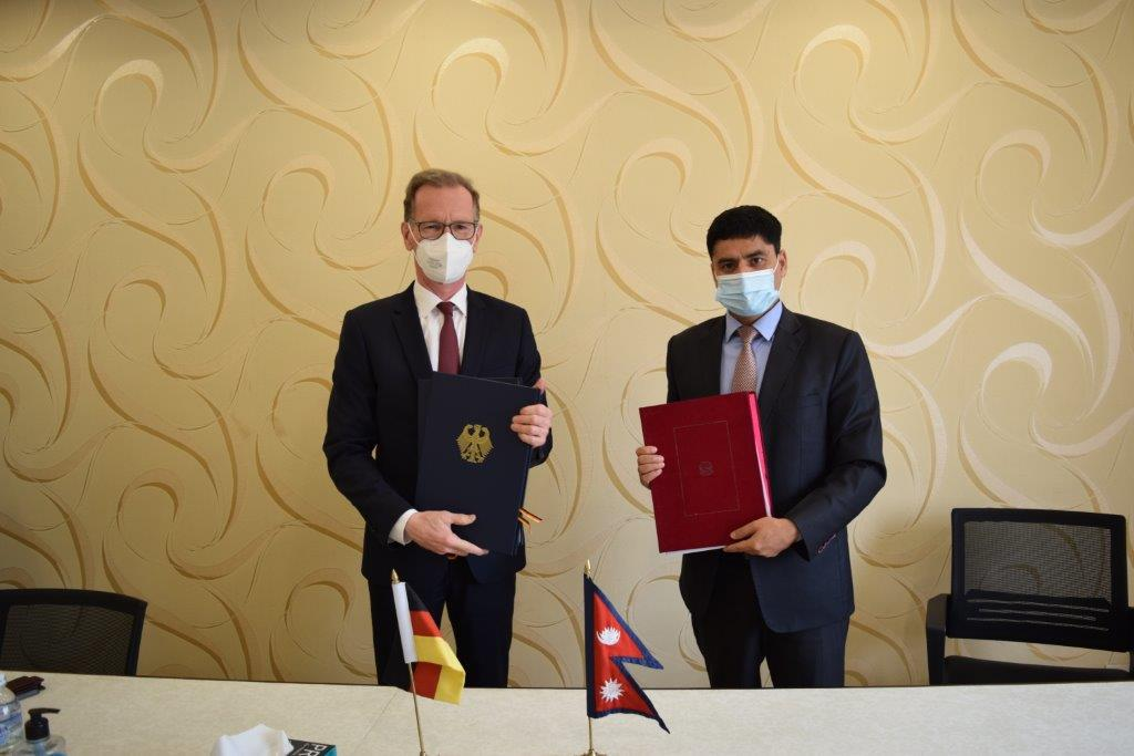 Germany to provide Rs. 1.4 billion grant to Nepal to foster green recovery and inclusive development