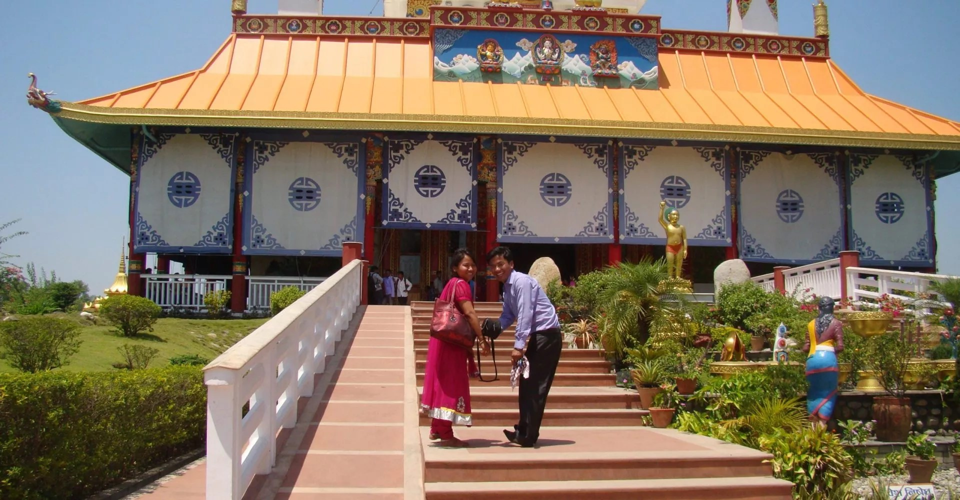Number of domestic tourists increase in Lumbini with thousands visiting daily