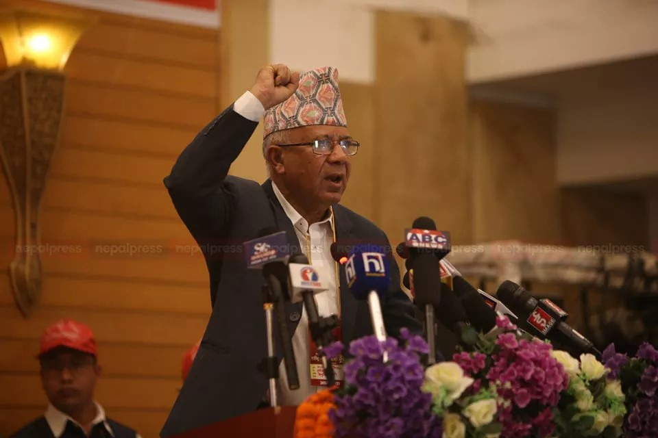 We will consider it if Oli captures UML through legal means, otherwise it is ours: Madhav Nepal