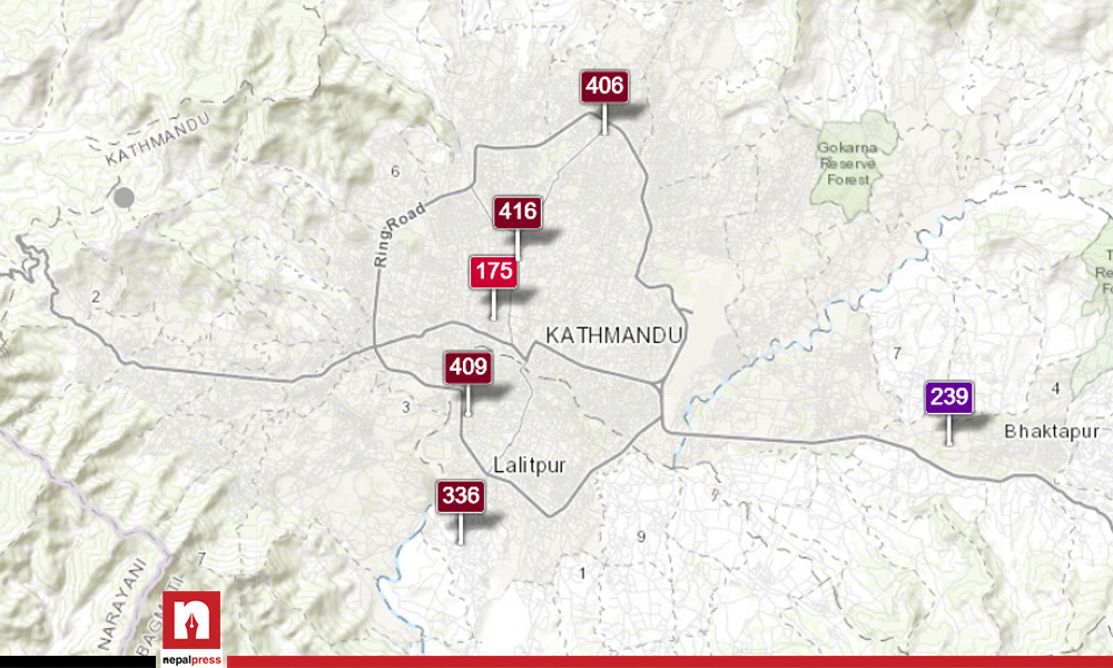 Pollution levels in Kathmandu still deadly as AQI remains over 400