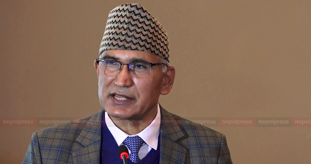 Oli will lead the remaining term of government: Minister Poudel