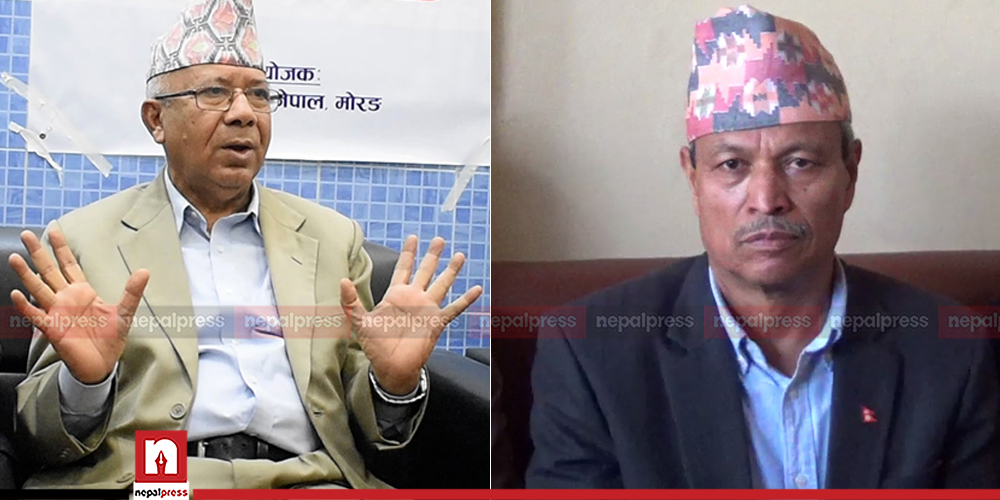 UML takes action against Madhav Nepal and Bhim Rawal, suspends party membership for six months
