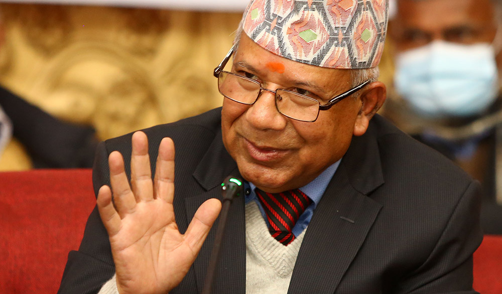 Madhav Nepal announces that he will not leave the political field