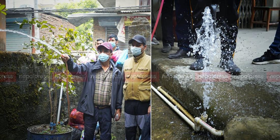 Water from Melamchi reaches general public