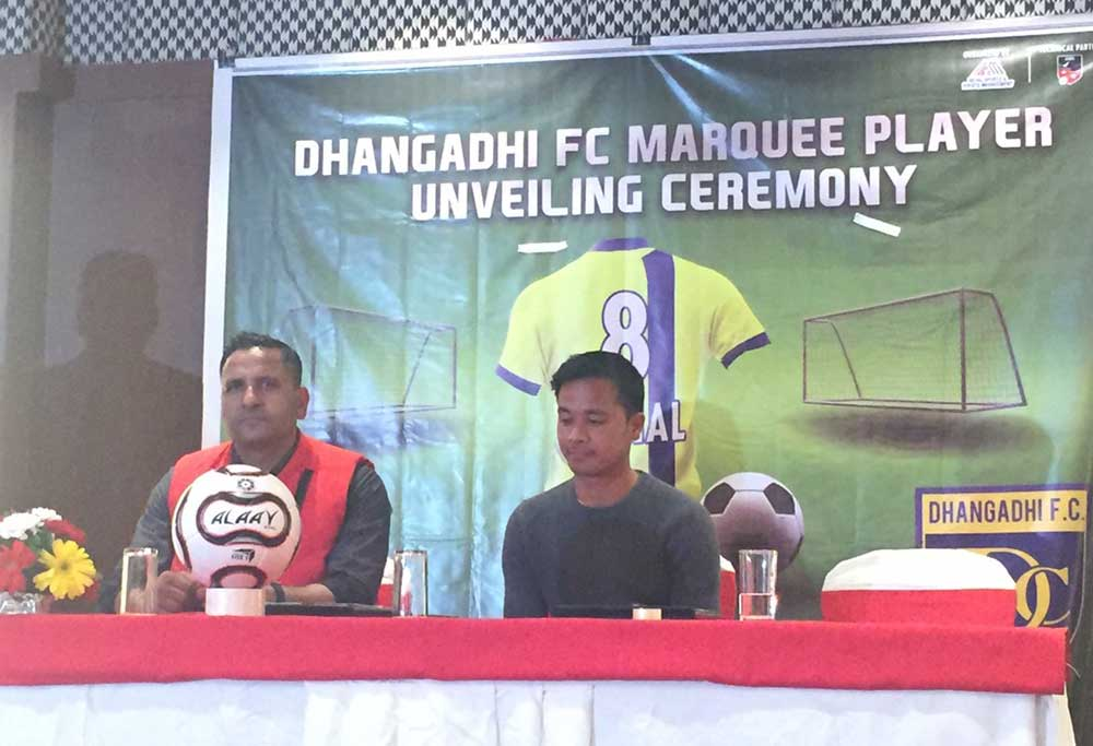 Rai revealed as Marquee Player of Dhangadhi FC for maiden NSL