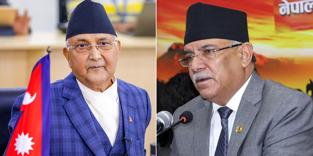 Anticlimax of CPN controversy: Badal a bonus to Oli in UML-Maoist 'divorce'