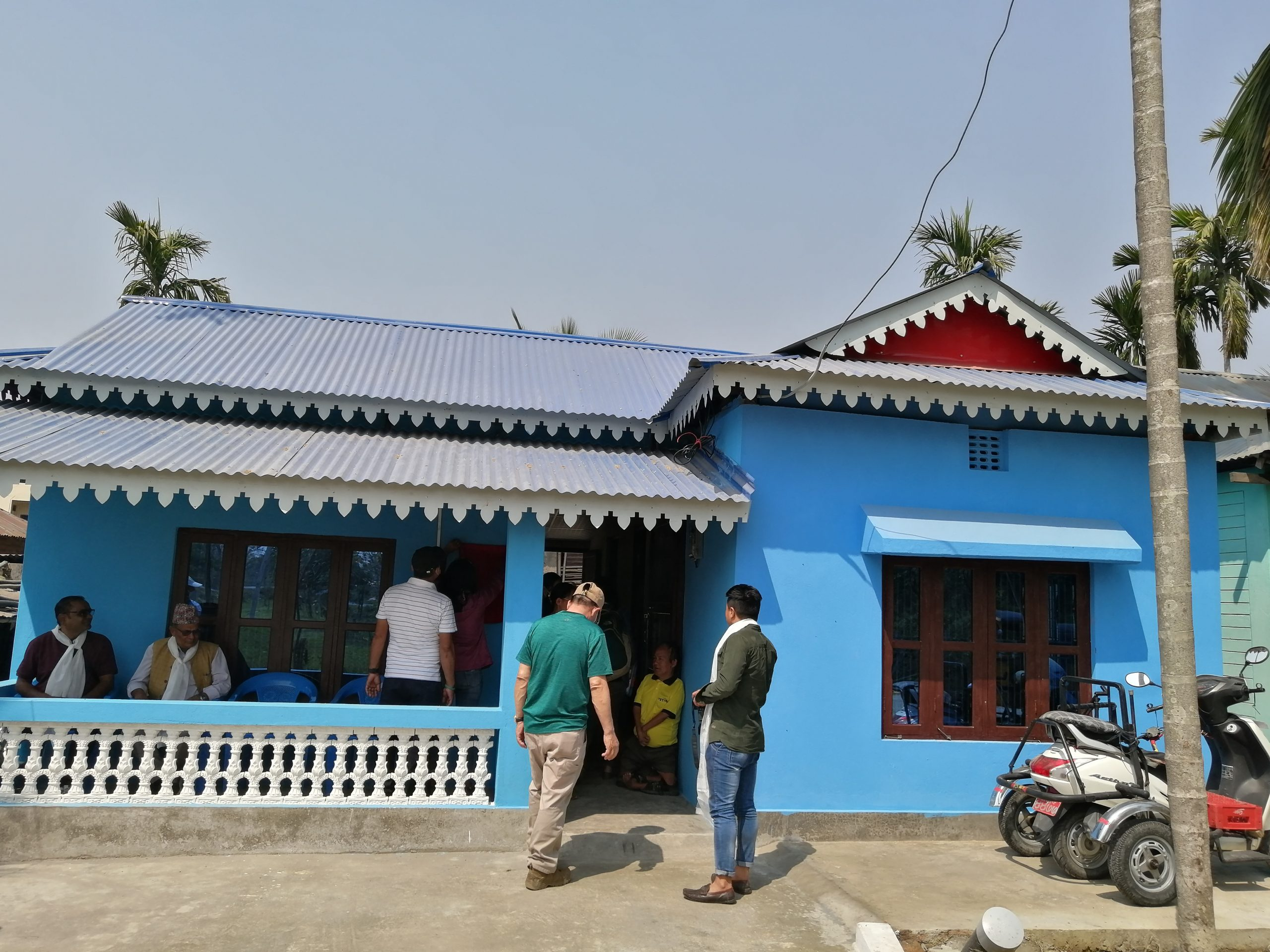 Physically challenged Byas Bahadur Limbu has own home now, thanks donor for generosity