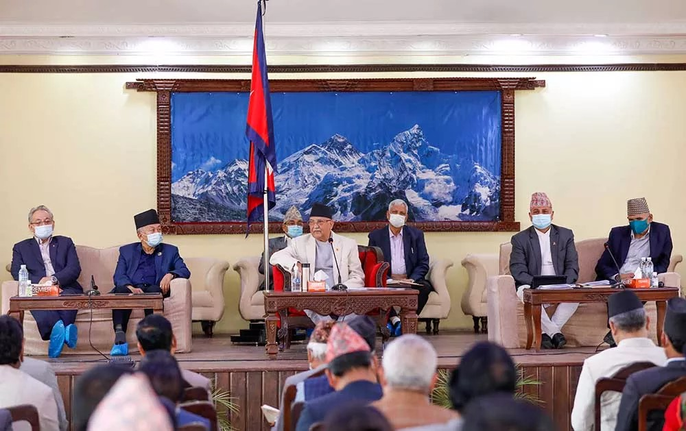 UML Standing Committee Announcement: Bamdev included, Madhav faction excluded