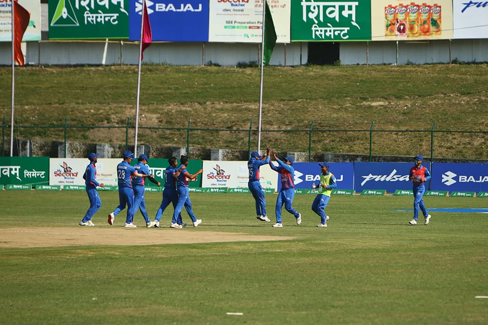 Nepal wins title of Triangular T20 series with record-breaking victory