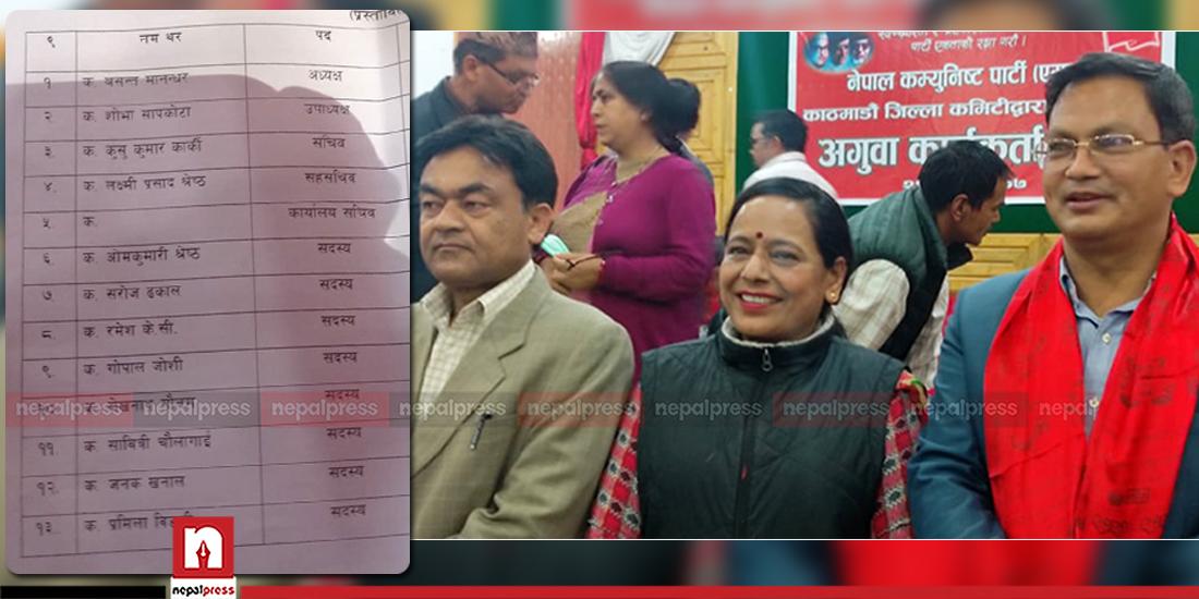 UML Kathmandu officially splits