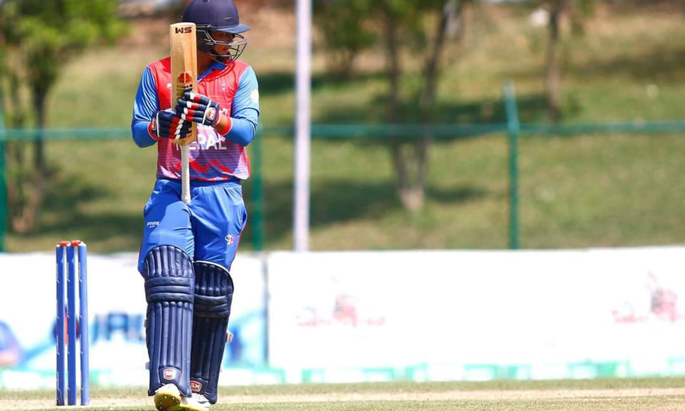 Kushal Malla becomes world's youngest batsman to score half-centuries in both T20 and ODI