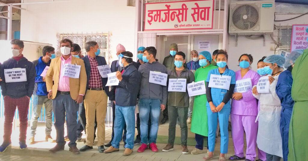 Most Lumbini hospitals full, demand for alternative arrangements