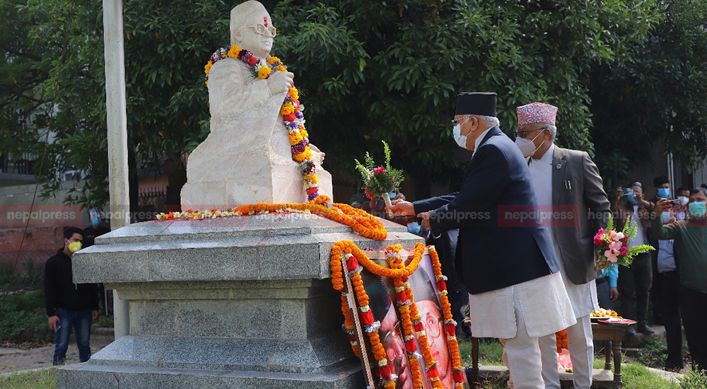 Madan-Ashrit Memorial Day observed by offering brief tribute without speech