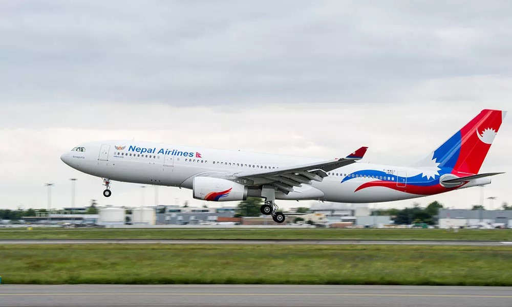 Nepal Airlines aircraft flies to Oman to bring 560 oxygen cylinders