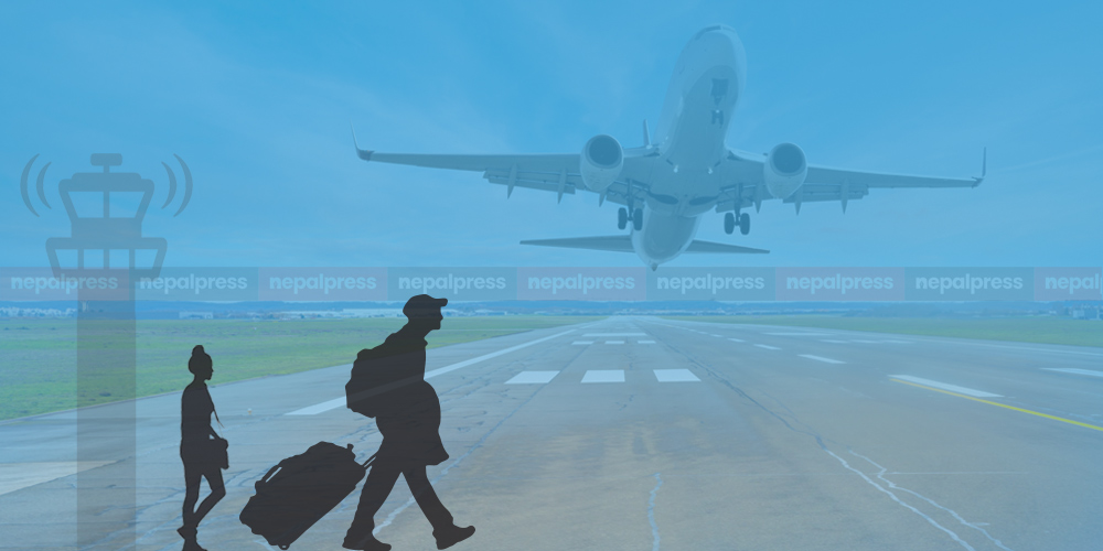 Many foreign employment workers being sent to various countries before closure of international flights
