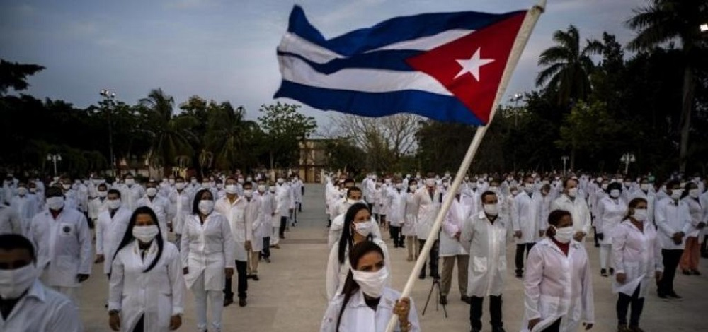 Why is Communist nation Cuba at the forefront of every health crisis in the world?