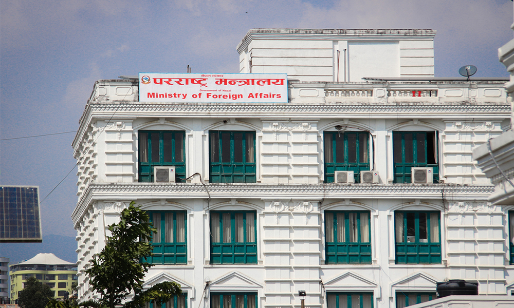 Correspondence by government to 7 foreign countries to provide healthcare items to Nepal