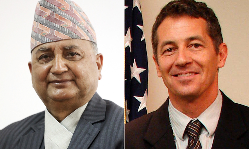 Conversation between Deputy Prime Minister and Ambassador Berry: US to supply healthcare items to Nepal from next week