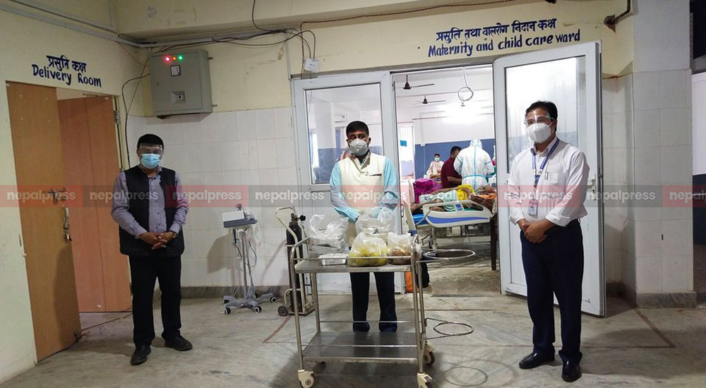 Kaski administration stops free food distribution campaign to coronavirus infected
