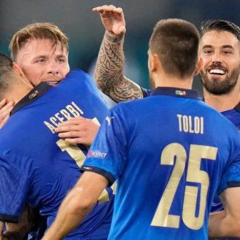How far will the Winning Machine Italy go?