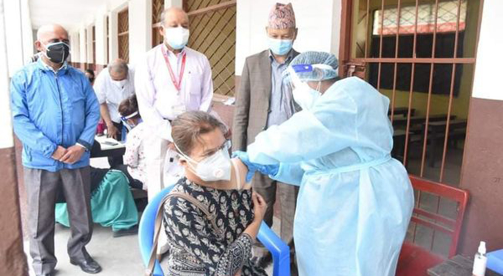 Vaccination campaign stopped indefinitely in Kathmandu