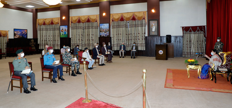 President urges government to focus on disaster risk reduction
