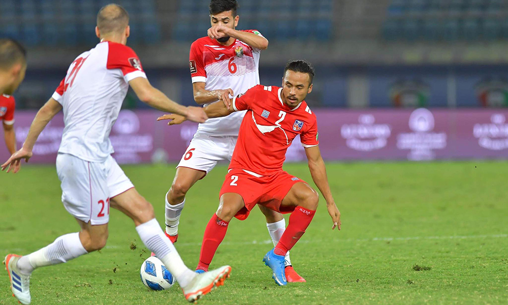 Jordan defeats Nepal in World Cup qualifiers