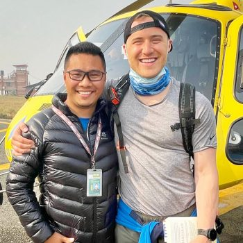 American singer Mike Posner climbs Mt. Everest on a charity ascent