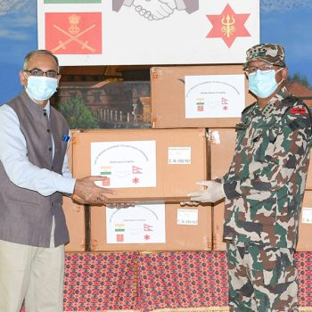 Health assistance provided to Nepal Army by Indian Army